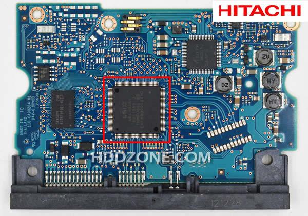 히타치 하드 디스크 보드 구성 요소