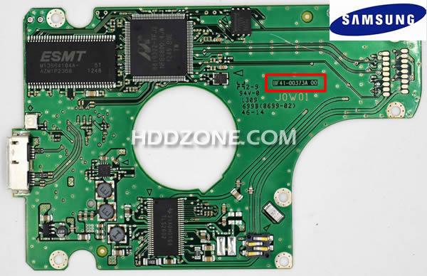 삼성 하드 디스크 보드 구성 요소