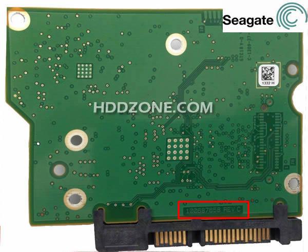 시게이트 하드 디스크 보드 구성 요소